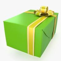 christmas present 8 c4d
