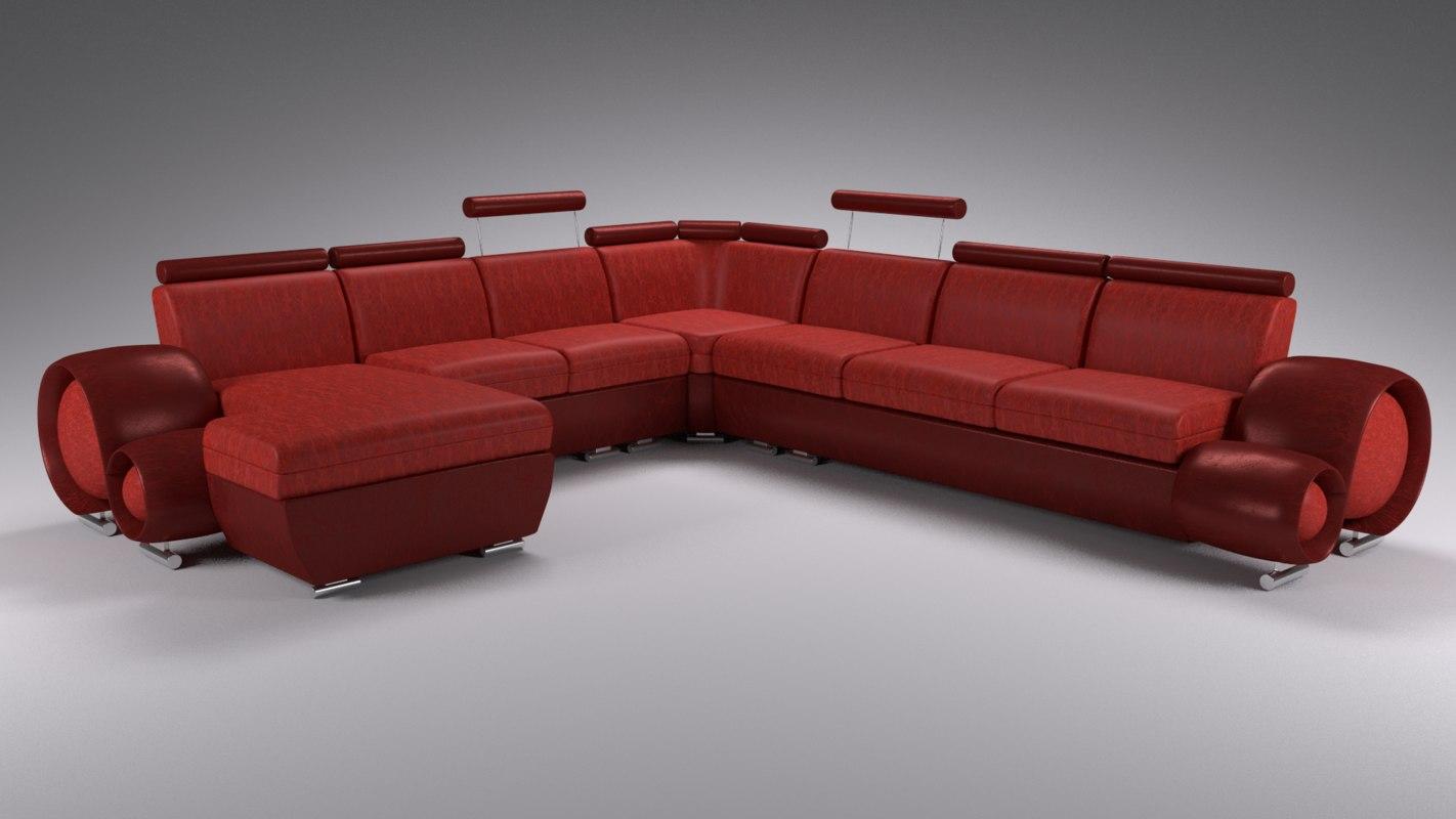 3ds sofa 1