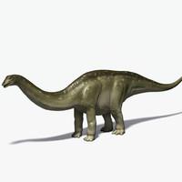 3d apatosaurus brontosaurus