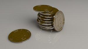 3dsmax coin bitcoin bit