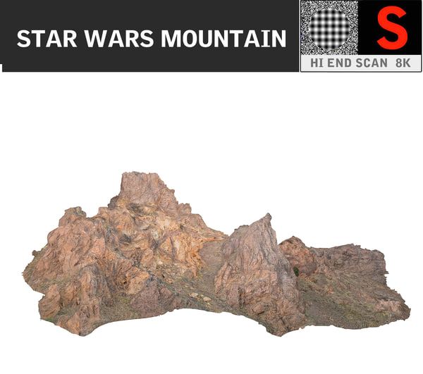 mountain 8k 3d model