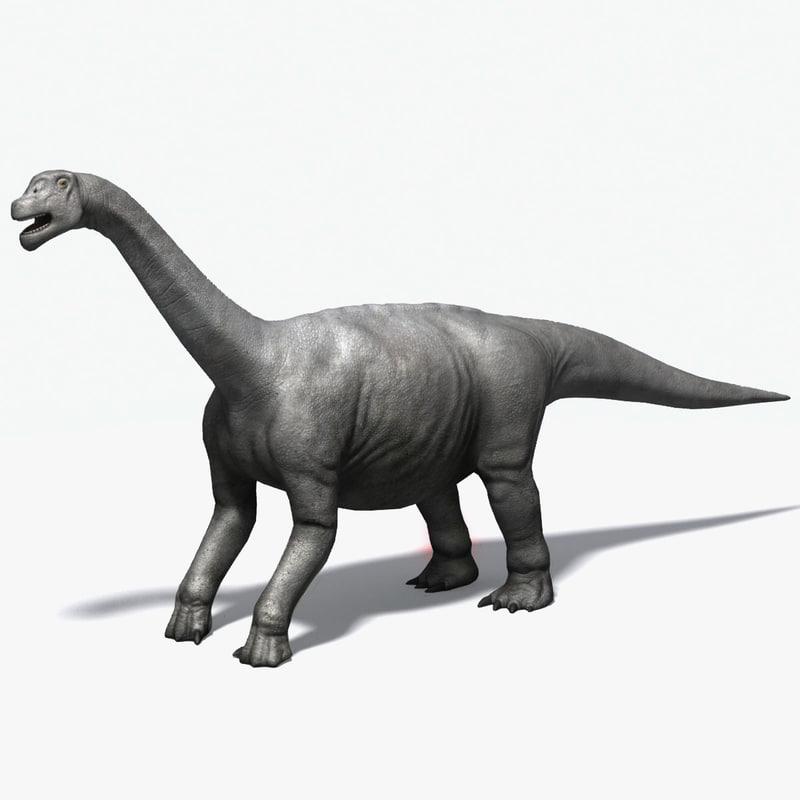 3ds max camarasaurus dinosaur