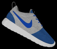 nike roshe shoes 3d model