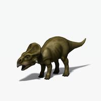 protoceratops dinosaur 3d max