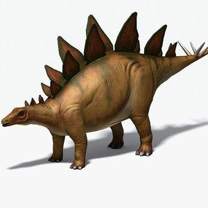 3d herbivore stegosaurus