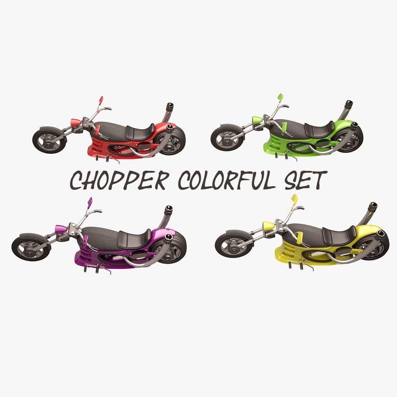 chopper 3d max