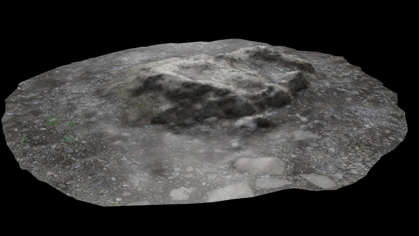 3ds chunk cement gravel