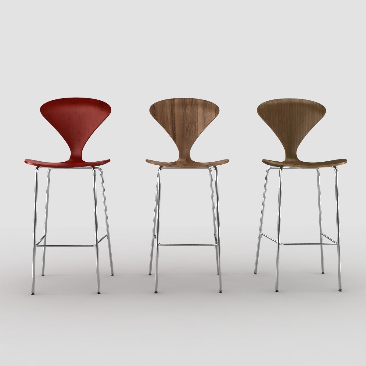Swell Cherner Stool Chair Metal Leg Machost Co Dining Chair Design Ideas Machostcouk
