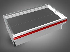 3d coffin cooler model