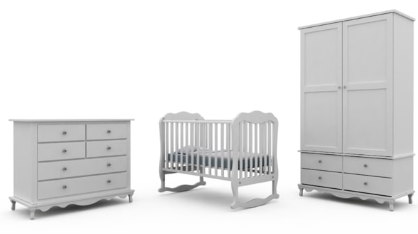 3d model of children s bedroom furniture