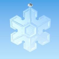 Christmas Snowflake Decoration 2