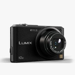 3d model camera panasonic lumix dmc