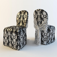 free hq chair 3d model