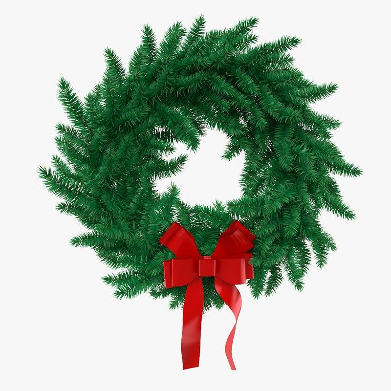 3d christmas wreath
