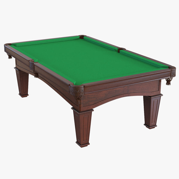 billiard table 3ds