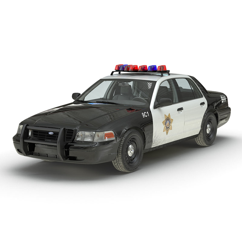 Ford Crown Victoria 2016 >> 3d crown victoria police car