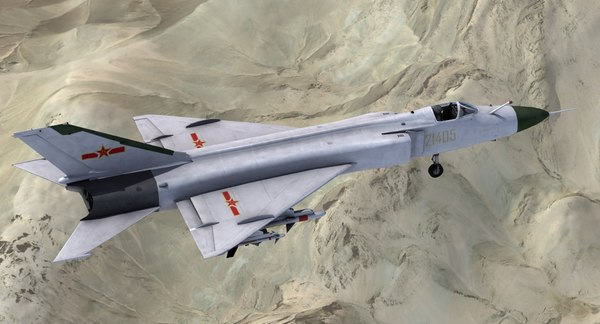 3d obj j-8 finback fighter