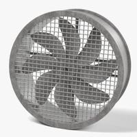 3dsmax large fan