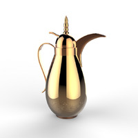 3d model arab thermos