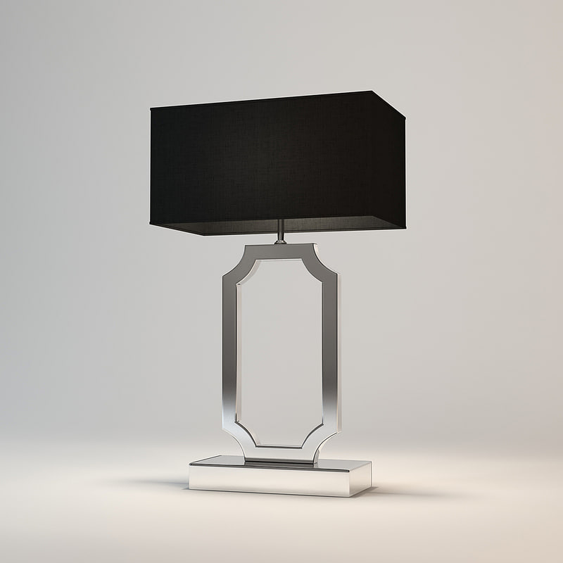 eichholtz table lamp sterlington 3d model