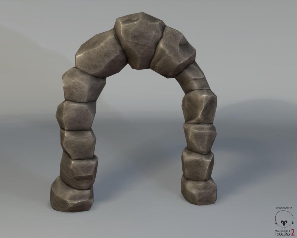 max ready stone arch