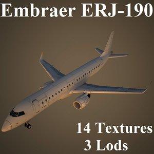 max embraer air low-poly