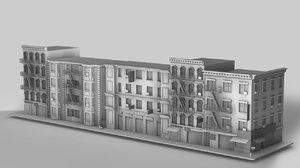 street house c4d