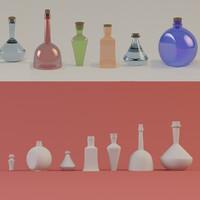 3d bottles