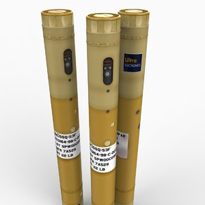 sonobuoy sonar buoy 3d model