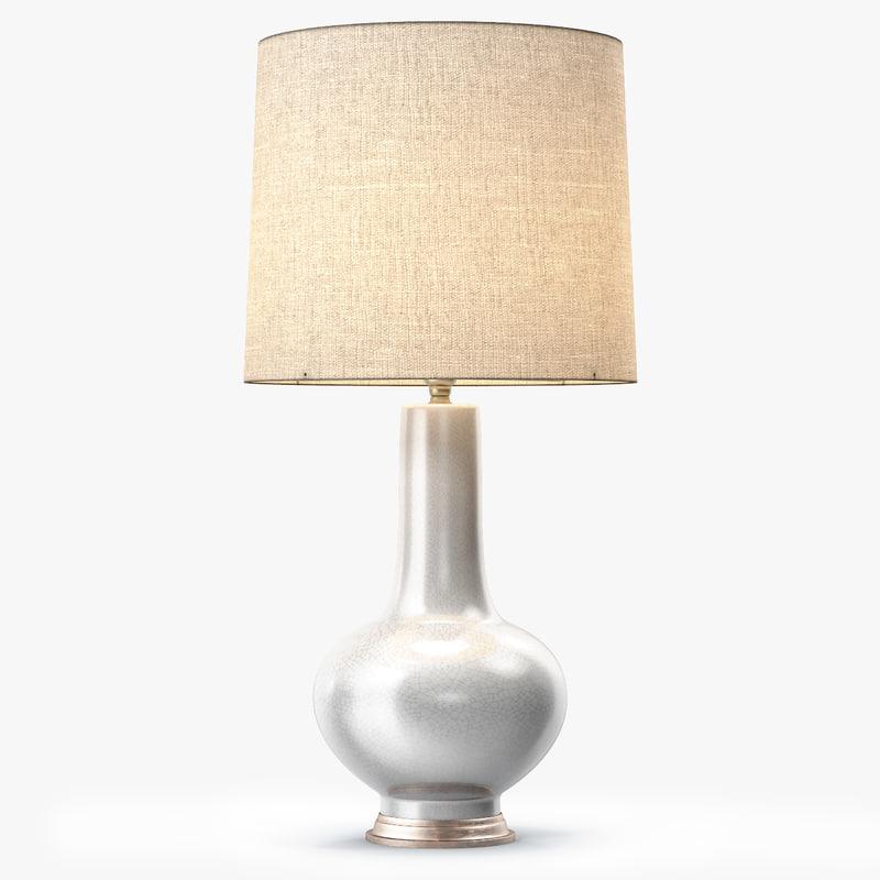 3d model sybil lamp