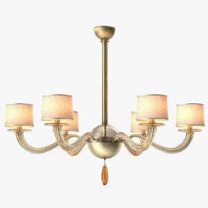 baker signature chandelier 3d max