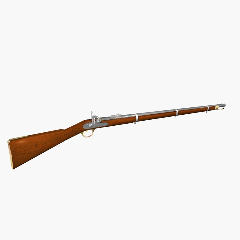 musket 3d max