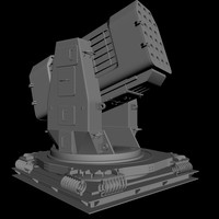 3d airframe missile launcher