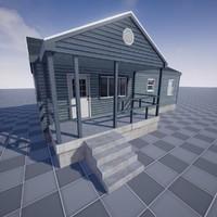 3d model of house 01