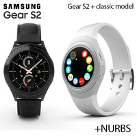 samsung galaxy gear s2 3d model