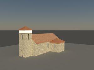 3d model church st lucy