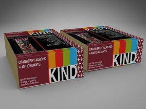 3d boxes kind bars model