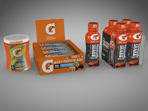 gatorade products 3d model