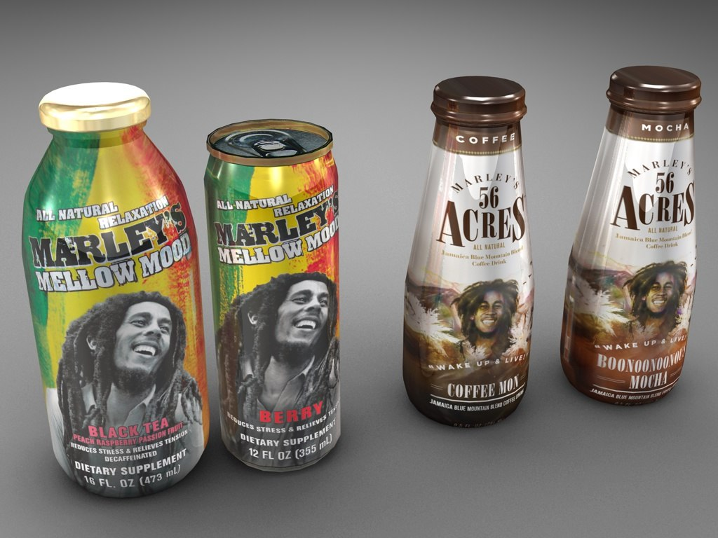 c4d marley mellow mood tea coffee