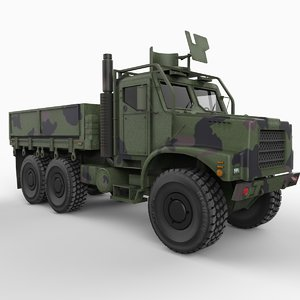 3d model mk 25 mtvr cargo