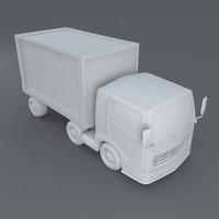 toon truck 3d max
