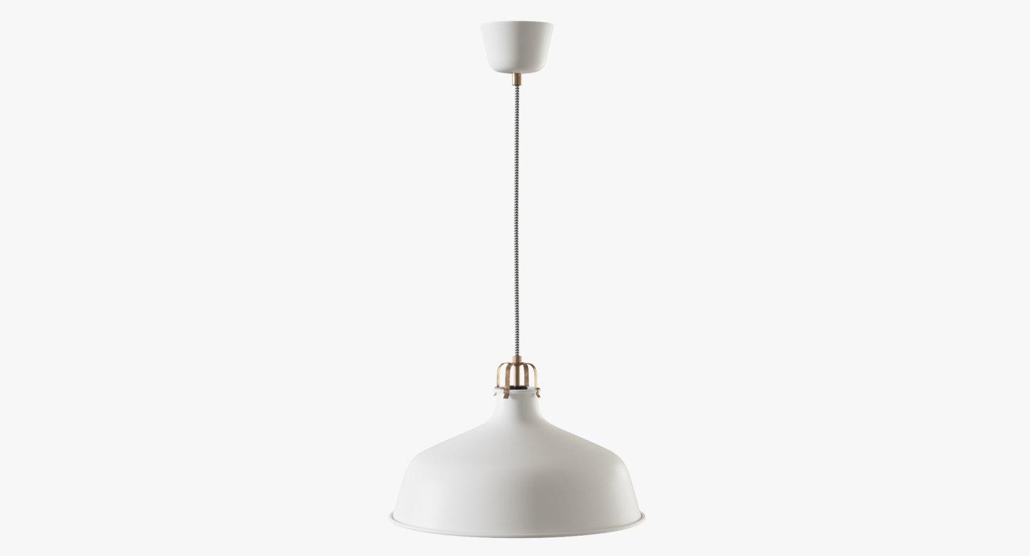 Ikea Ranarp Pendant Lamp 3d Max