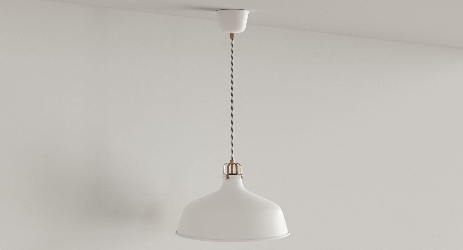 ranarp pendant lamp 3d max for Ikea Ranarp Pendant Lamp  111ane