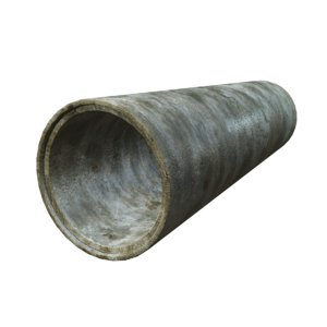 concrete pipe 3d max
