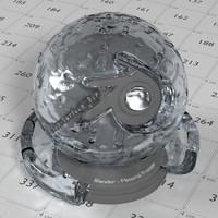 Animated Glass Water Rain 1