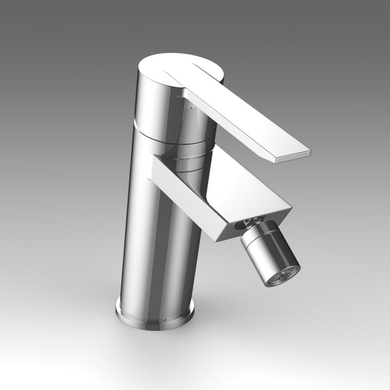 3d mixer tap