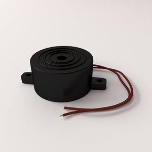 3d buzzer parts