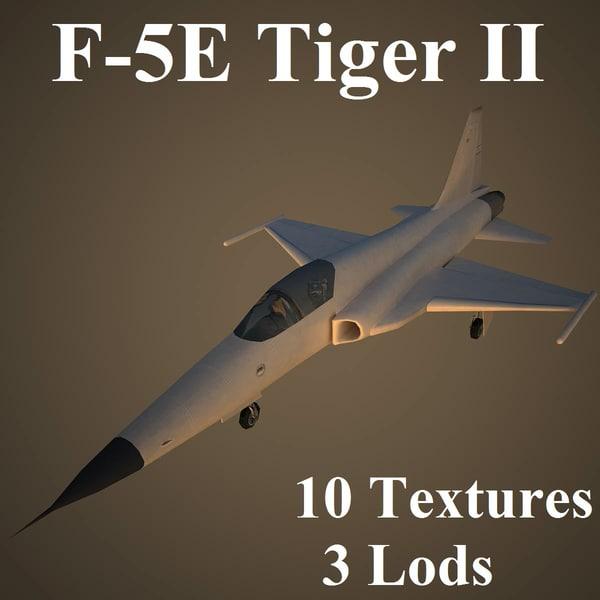3d model northrop fighter