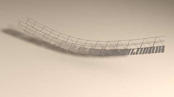 rope bridge 3d c4d