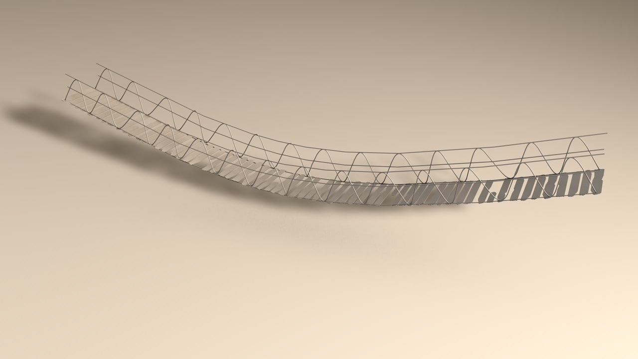 rope bridge 3d c4d